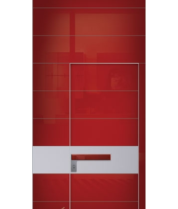 דלת פלדיניום בקו אפס אדומה