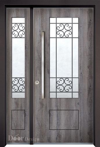 דלת פלדה מסדרת נפחות