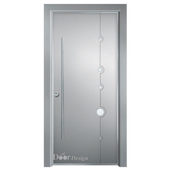 דלתות כניסה D7084 חלונות בצורת עיגול