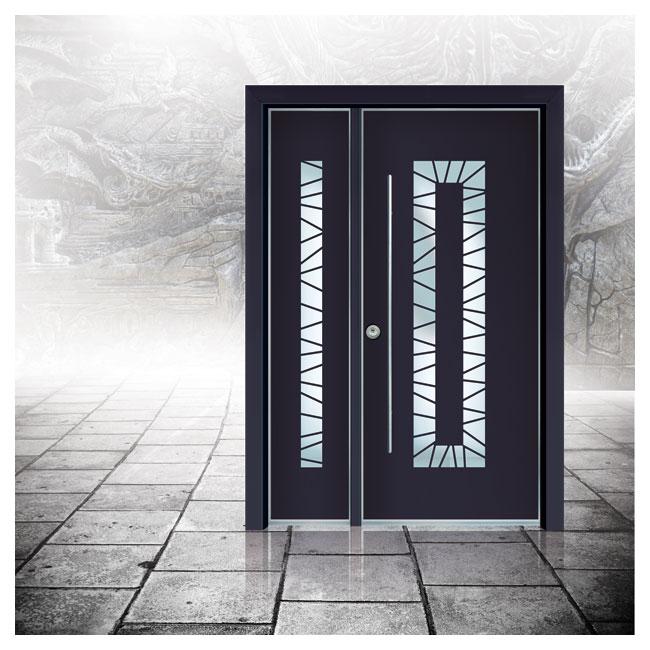 דלתות כניסה D7141