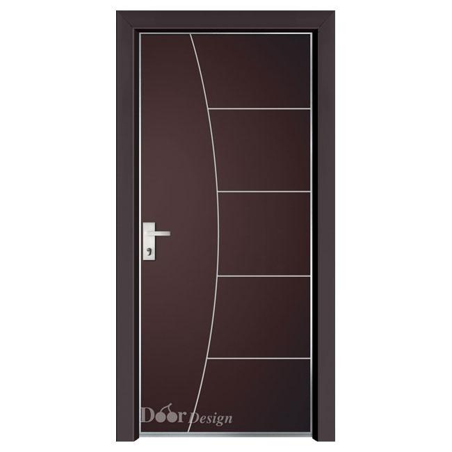 דלת קלאסית בצבע חום