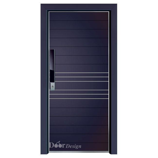 דלת כניסה מעוצבת דגם D7182