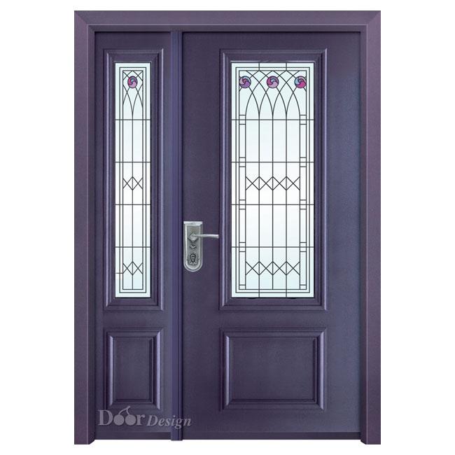 דלתות פלדה D9516
