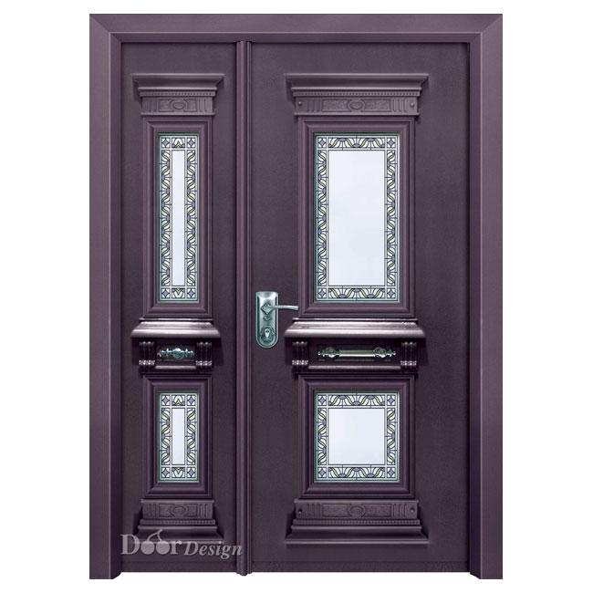 דלת פלדה עם ויטראז'