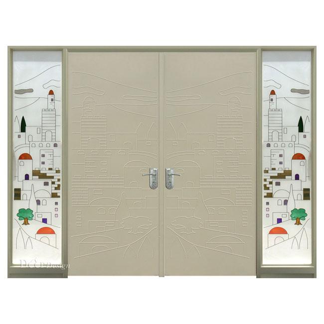 דלתות פלדה D9659