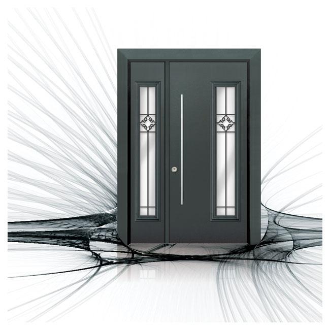 D9849-דלתות פלדה תדמית