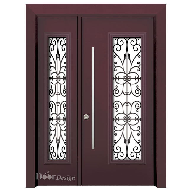 דלתות פלדה D9850