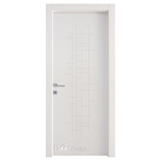 דלתות פנים DI-5036 חריטת ריבועים