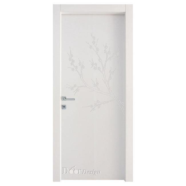 דלתות פנים DI-5037 חריטת עץ עדין