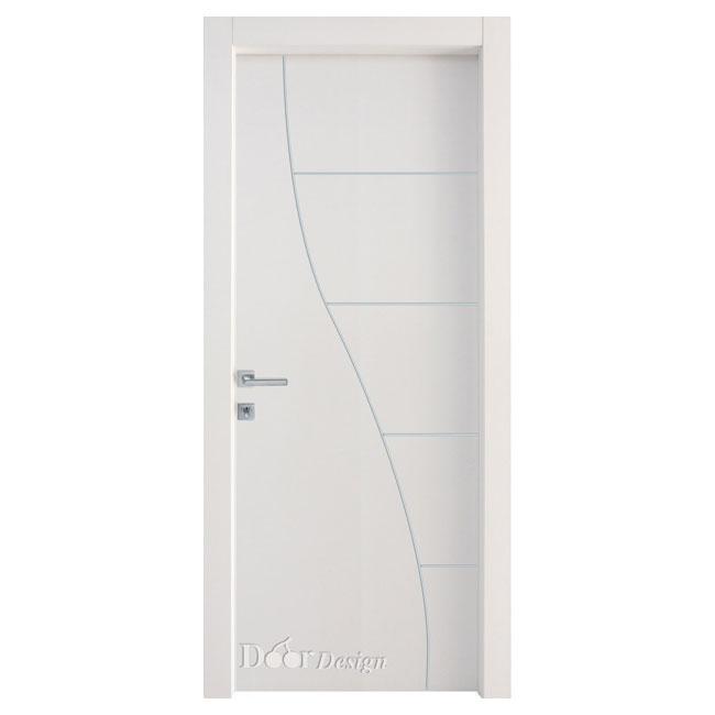 דלתות פנים DI-5062 עיצוב גלי