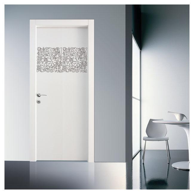 DI-5110-דלתות פנים דוגמא חריטת פרחים