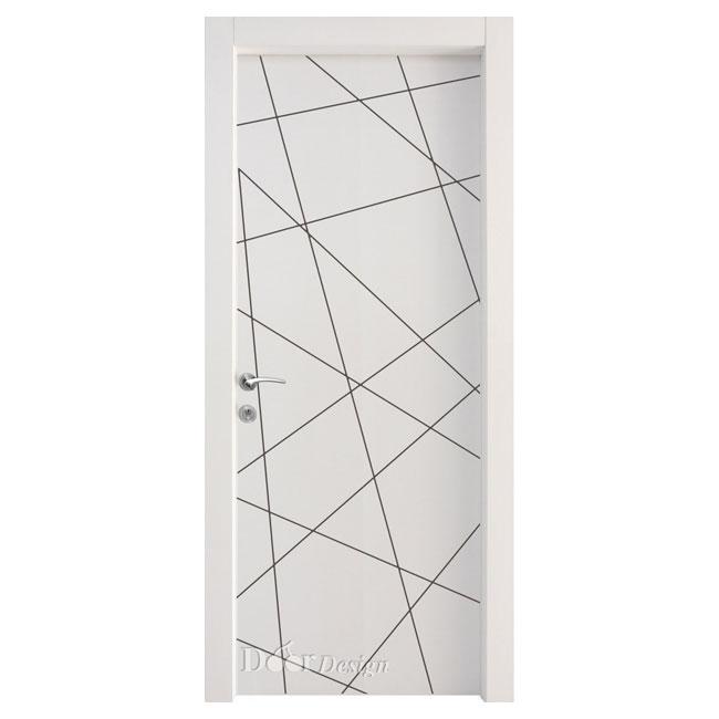 דלתות פנים DI-5113 קוים גאומטרים