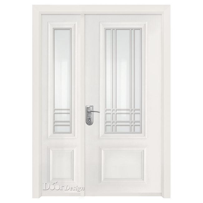 דלת פלדה סדרת חלונות