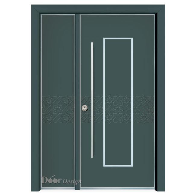 D7131-דלתות כניסה - ירוק
