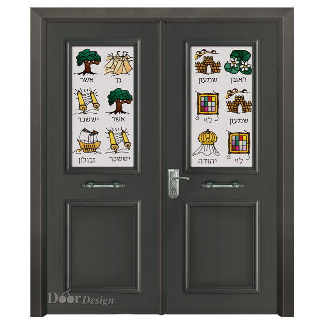 דלת פלדה D9815