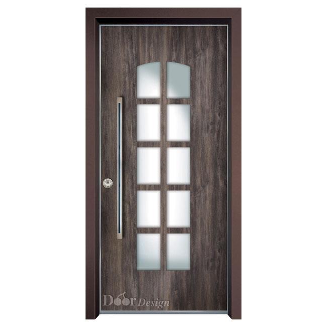 דלתות כניסה דמוי עץ
